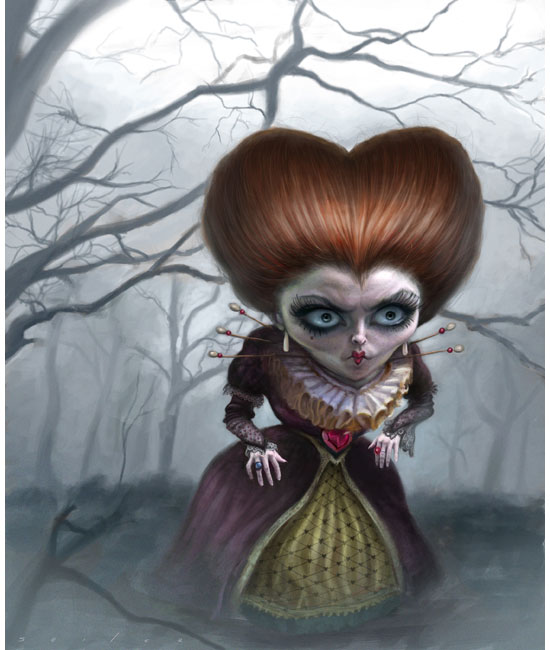 """Red Queen"" for Tim Burton's Alice in Wonderland."