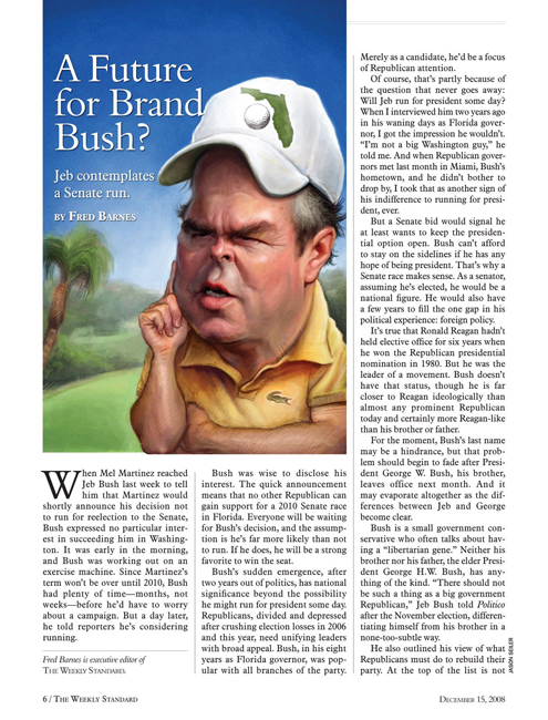 For The Weekly Standard.