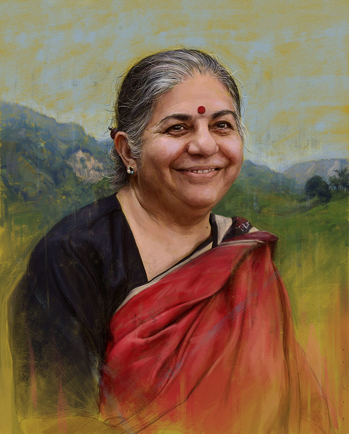 ReclaimRealFood Presents Food Seminar And Workshop With Vandana Shiva