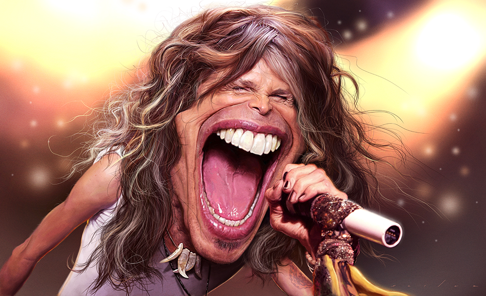 Steven Tyler for Adobe