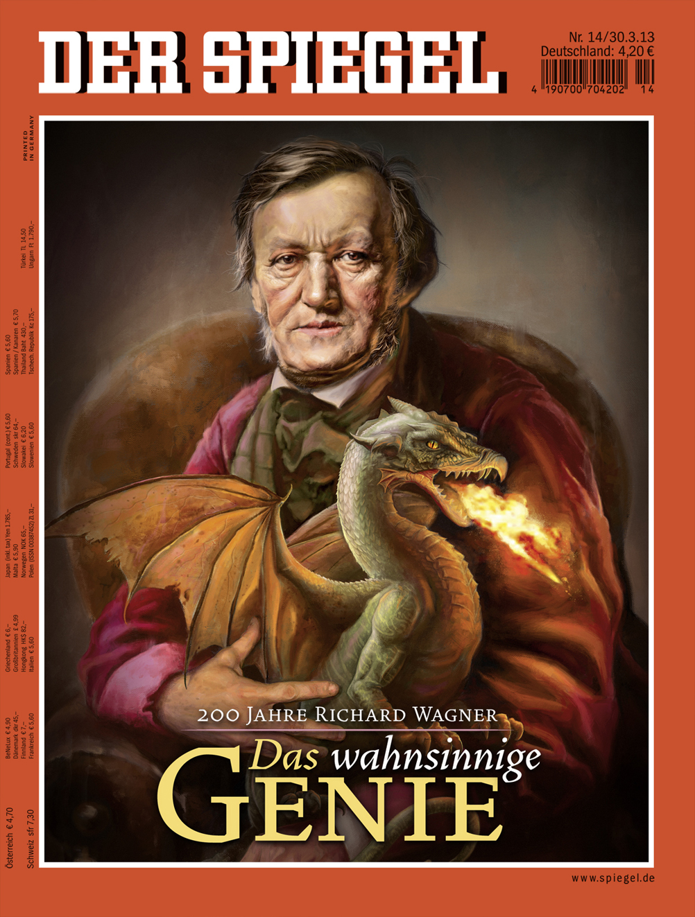 Wagner for der spiegel jason seiler illustrationjason for Der spiegel redakteure